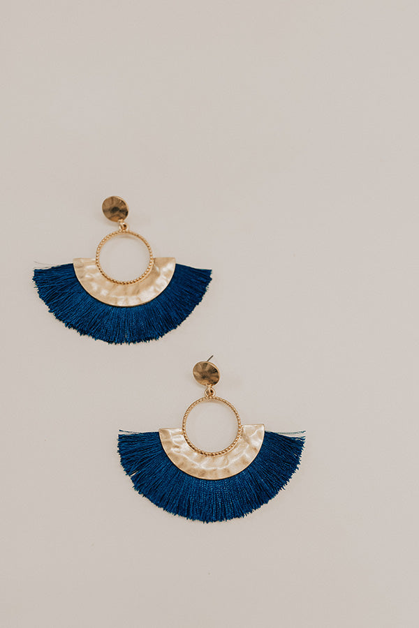 Fan Favorite Earrings in Sapphire