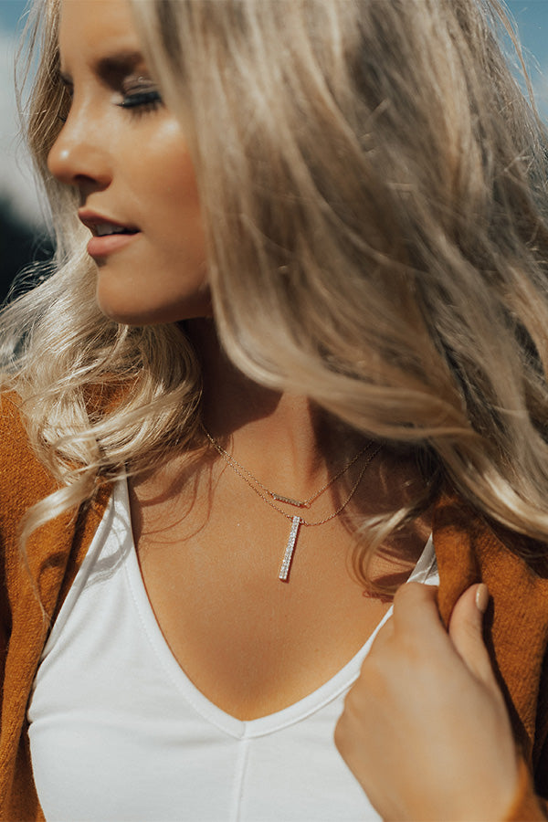 Raise The Bar Layered Necklace