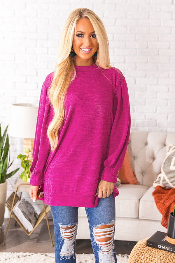 Vancouver Vacay Tunic Sweater