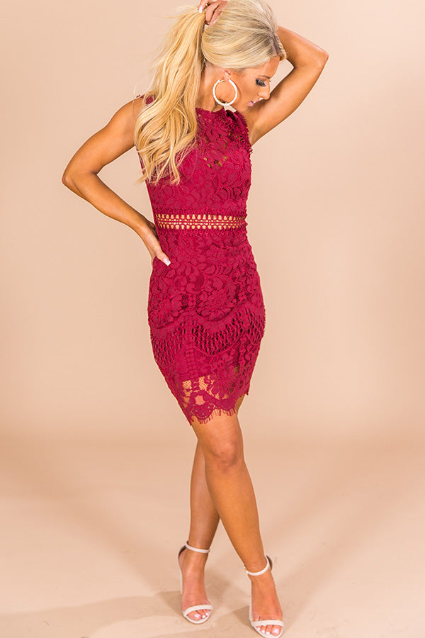 Tonic Time Lace Dress