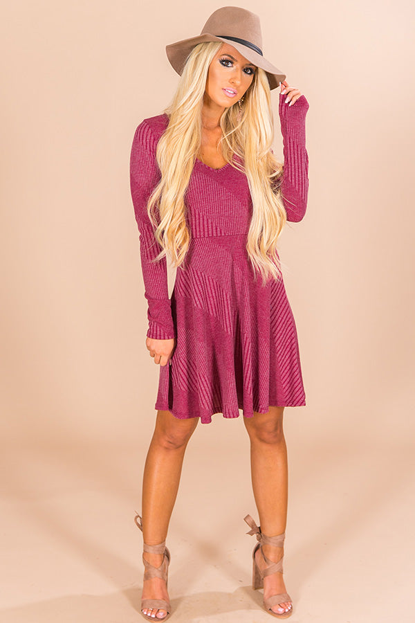Mulled Wine Moment Dress