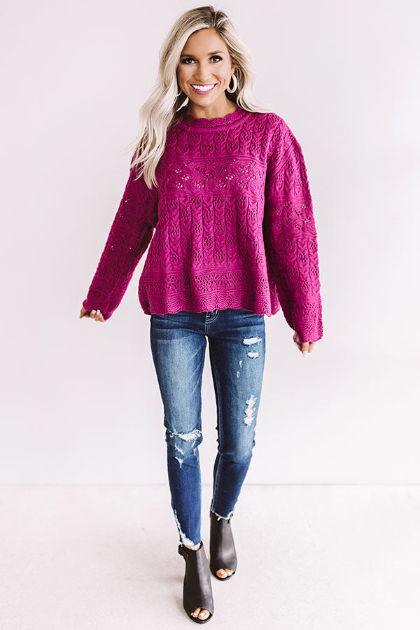 Boston Babe Knit Sweater