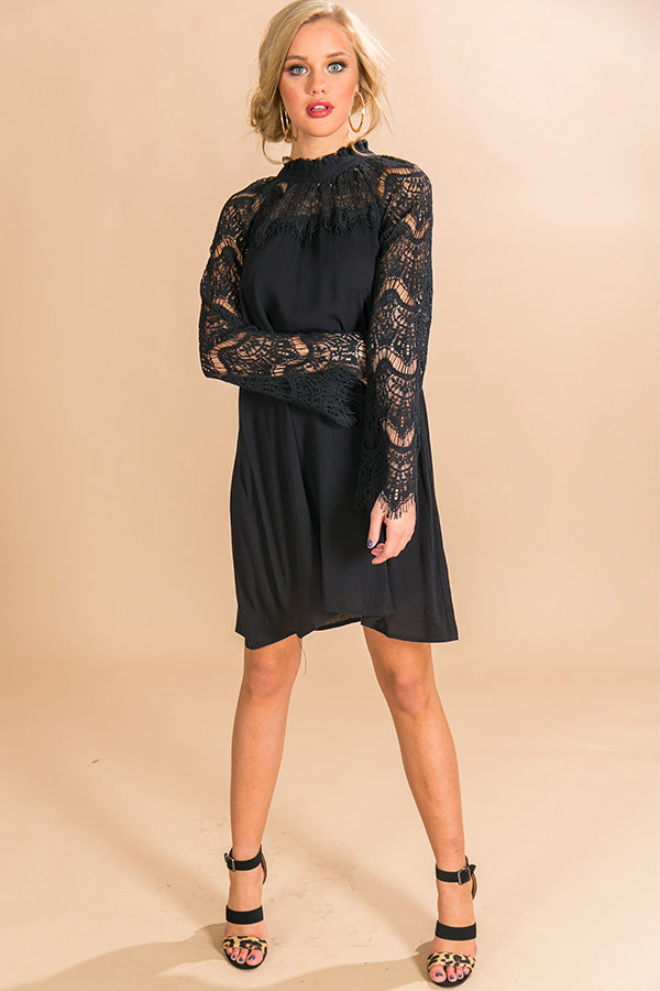 Toasting In Telluride Lace Dress