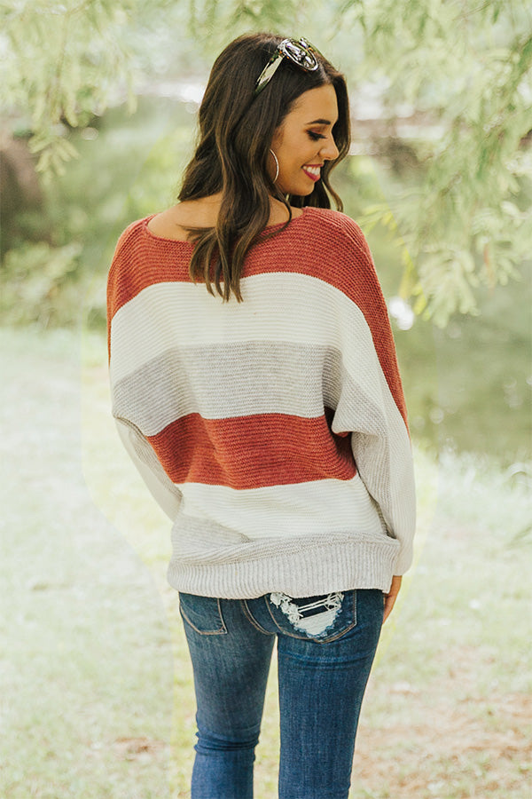 Rocky Mountain Retreat Tunic Sweater In Ivory