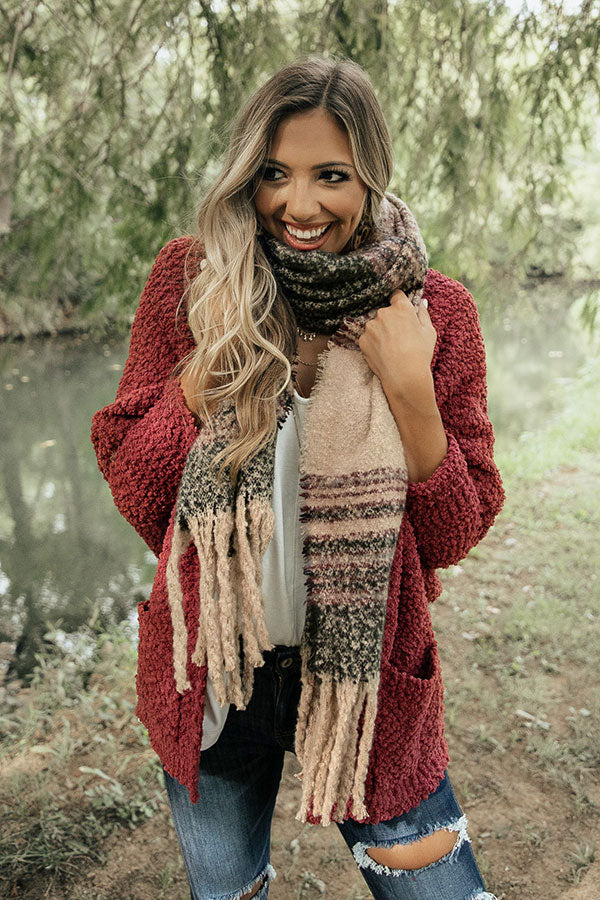 Stay Cozy Scarf In Forest