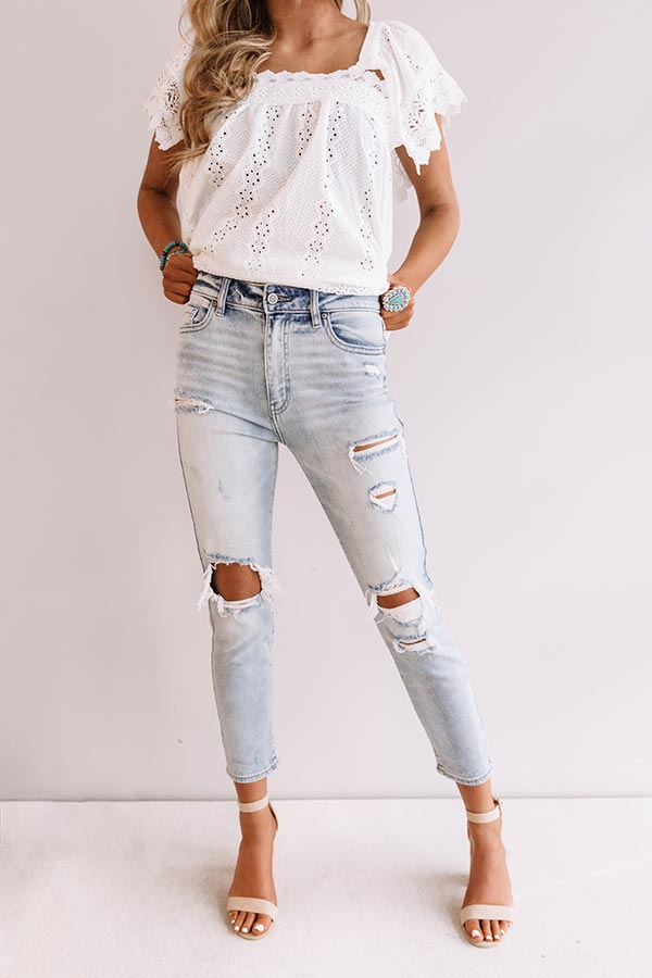 The Mabry High Waist Relaxed Skinny