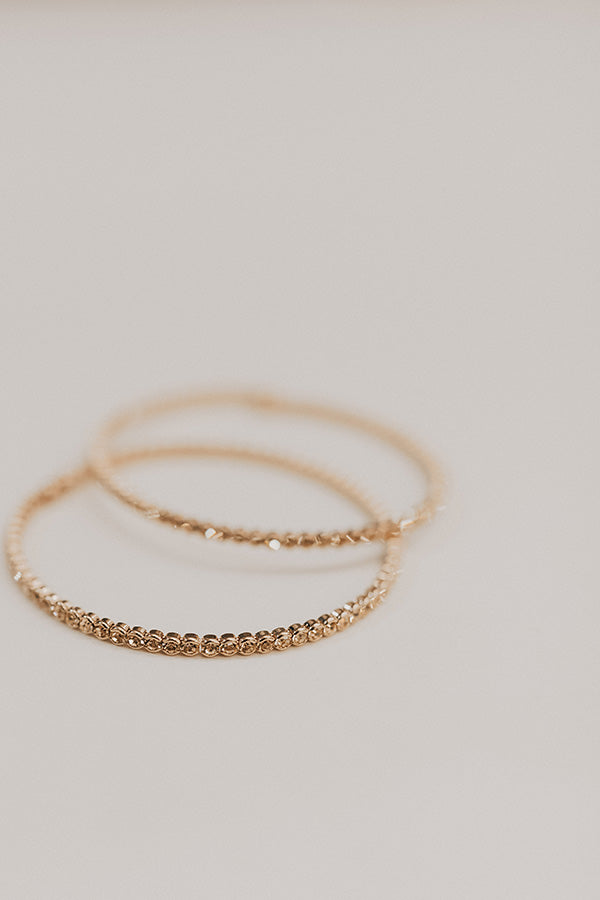 The Night Life Bracelet in Rose Gold