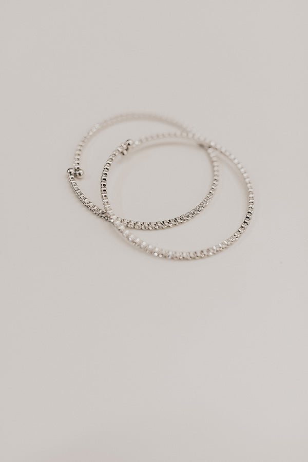 The Night Life Bracelet in Silver