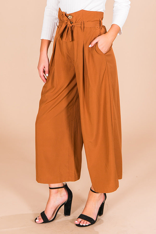 Paris Nights High Waist Trousers