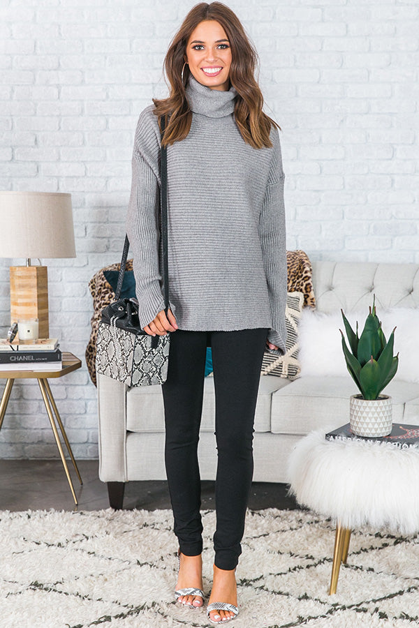 Cold Night Kisses Tunic Sweater