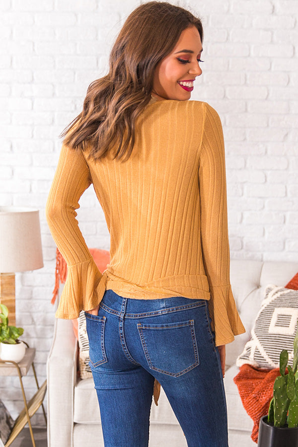 Sugar And Snuggles Knit Top