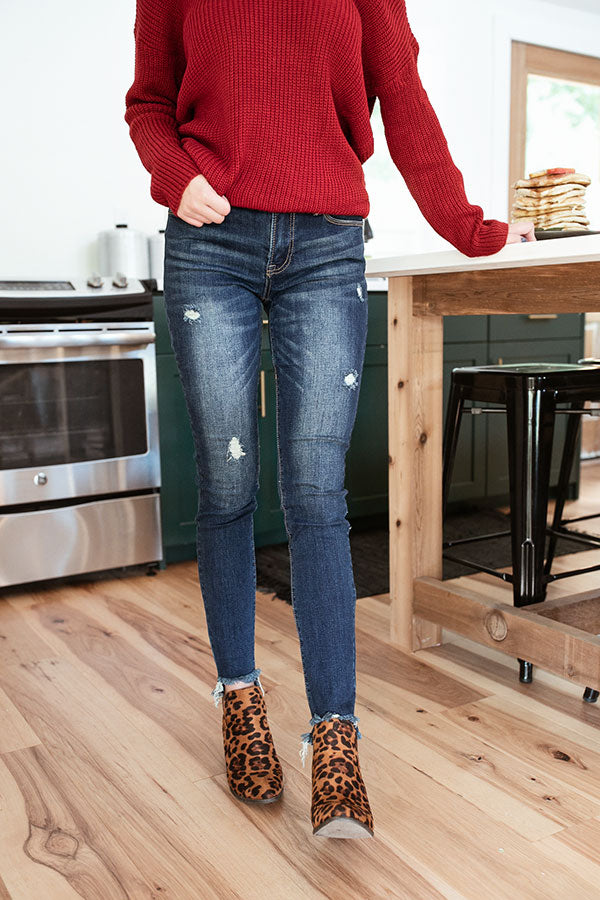 The Tia Mid Rise Relaxed Skinny