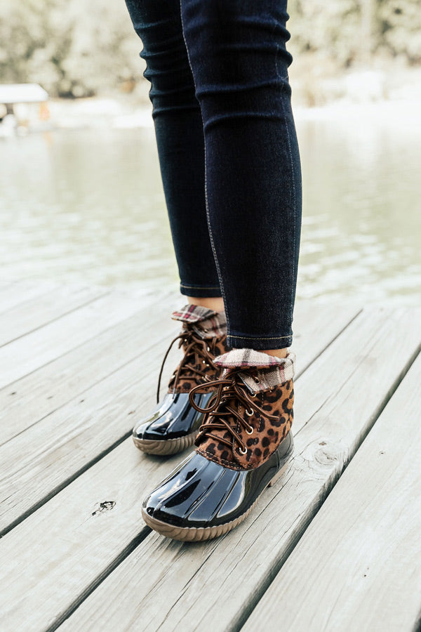 The Kenzie Leopard Boot