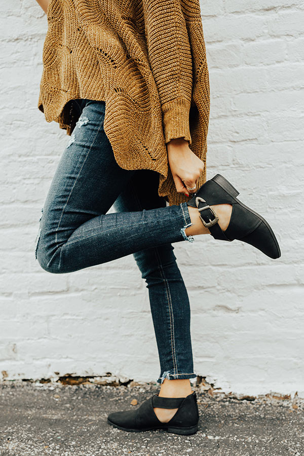 The Clark Bootie in Black