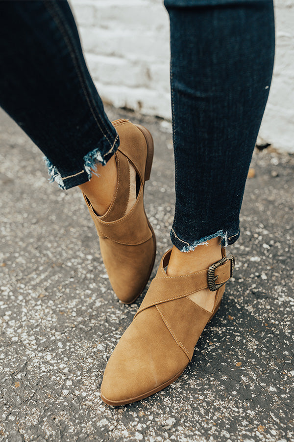 The Clark Bootie in Mocha