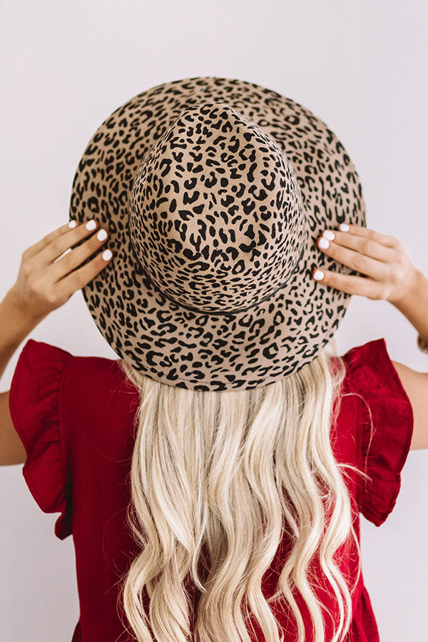 Own The Spotlight Leopard Hat