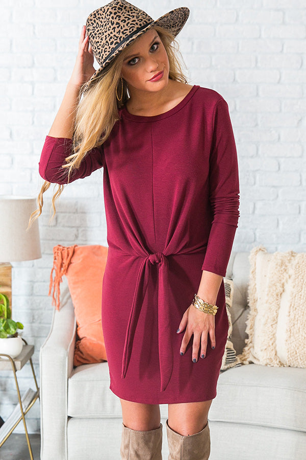 Wine Not Sweater Dress