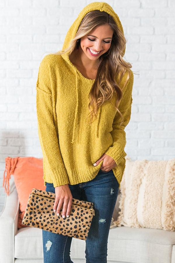 That Cozy Feeling Shift Sweater in Honey