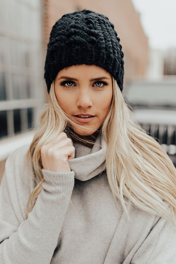 Cabin Vibes Knit Beanie