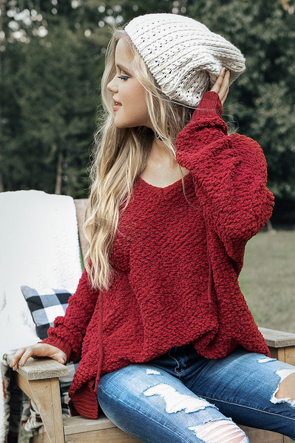 Starry Skies Knit Beanie in Ivory
