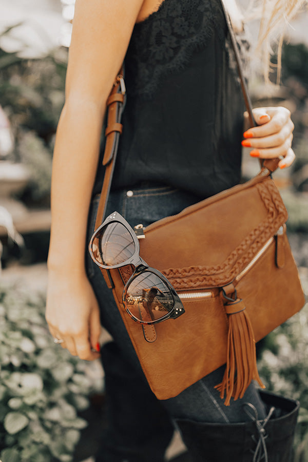 Savannah Strolls Crossbody In Brown