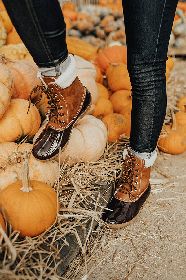 The Kenzie Sherpa Lined Boot