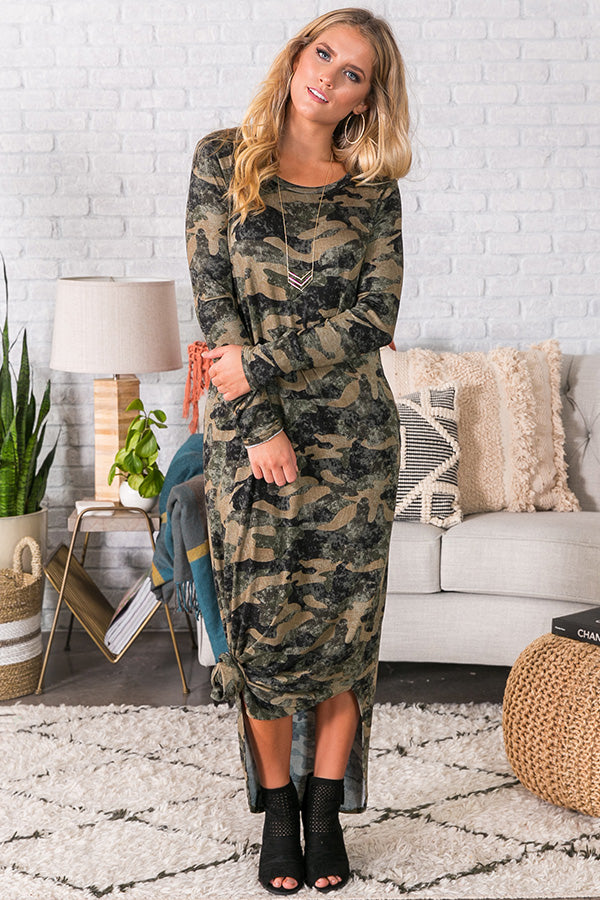 Tried And True Camo Maxi