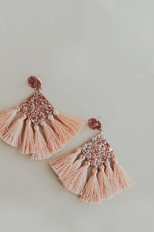 Frequent Flyer Earrings In Pink