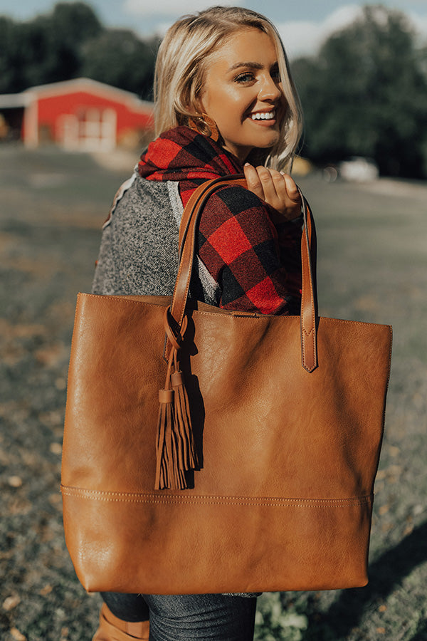 Montreal Magic Tote In Brown