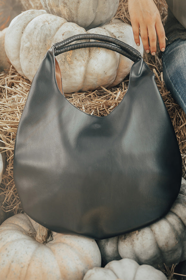 The London Tote In Black