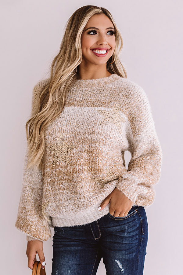 Star Of The Show Knit Sweater