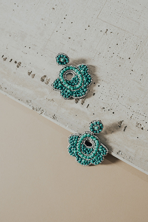Tuscany Twinkle Earrings In Turquoise