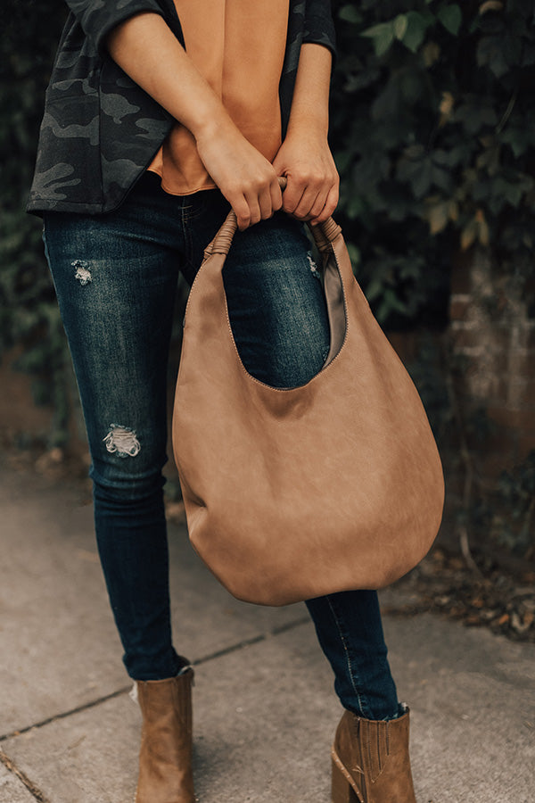 The London Tote In Mocha