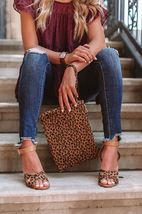 Fashion Week Find Leopard Clutch