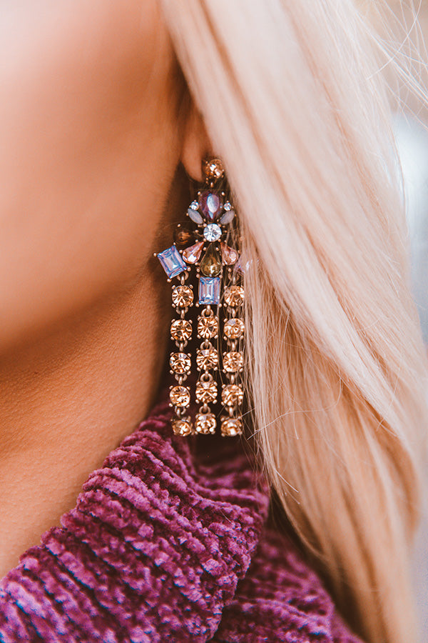 Pop The Baubles Earrings in Champagne