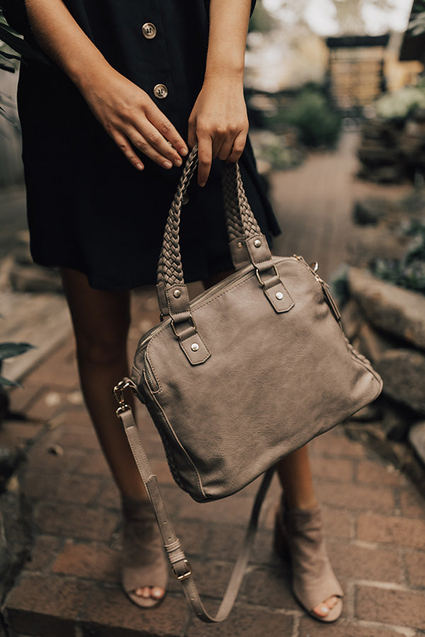 Telluride Retreat Tote in Taupe