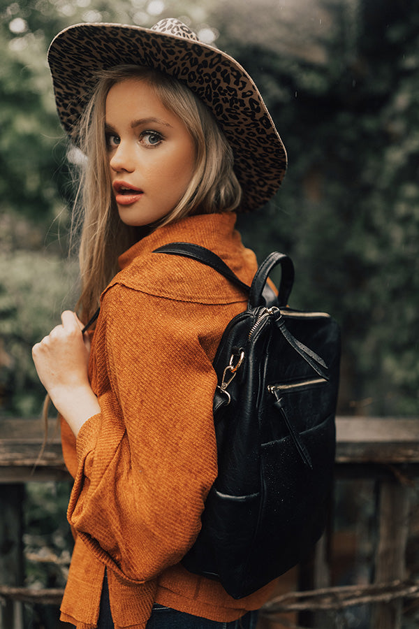 Tahoe Bound Backpack in Black