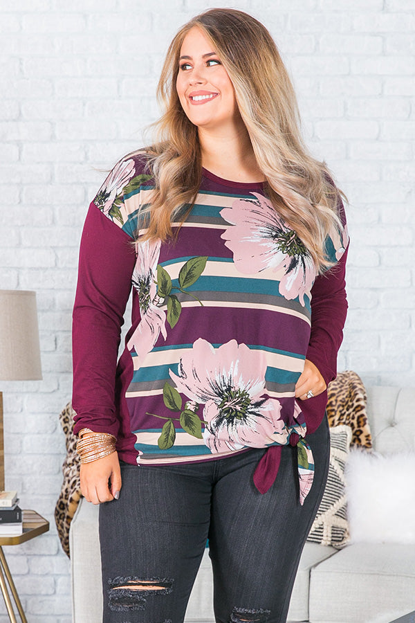 The It list Floral Shift Top