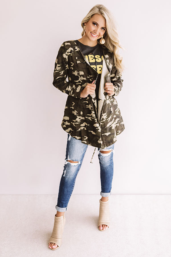 Greatest Hits Lightweight Camo Jacket