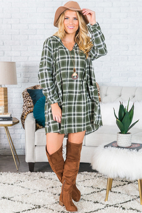Movie Night And Margs Plaid Tunic