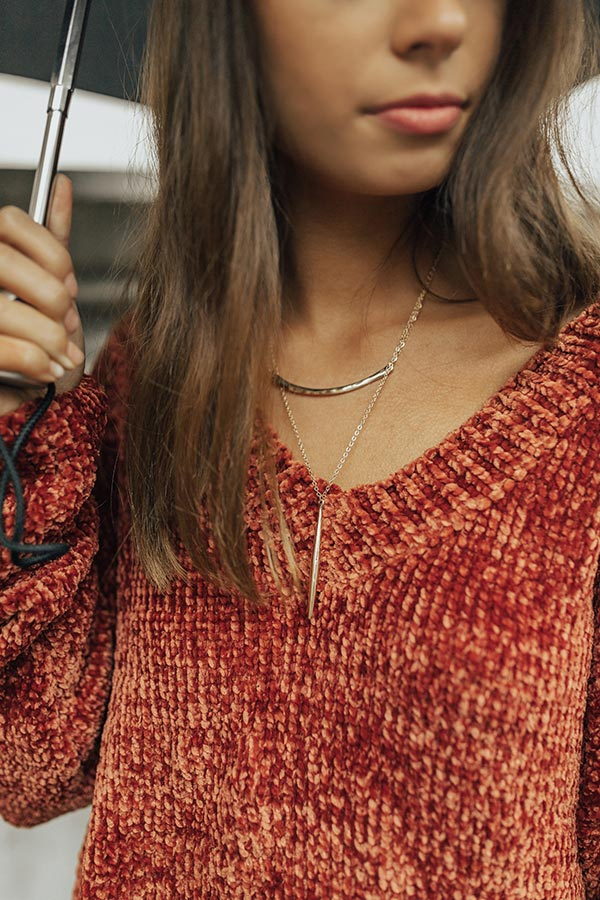 Golden Rule Layered Necklace