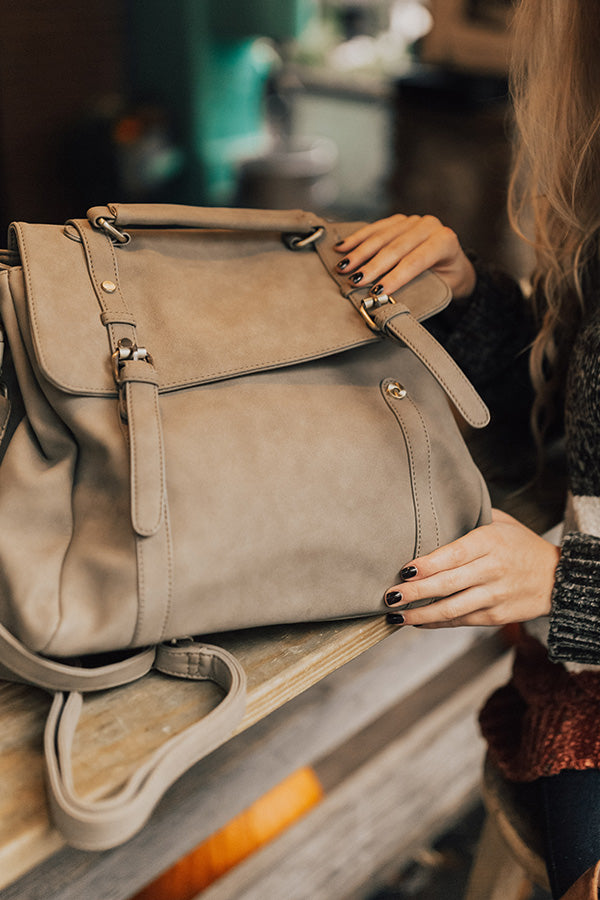 The It List Backpack in Taupe