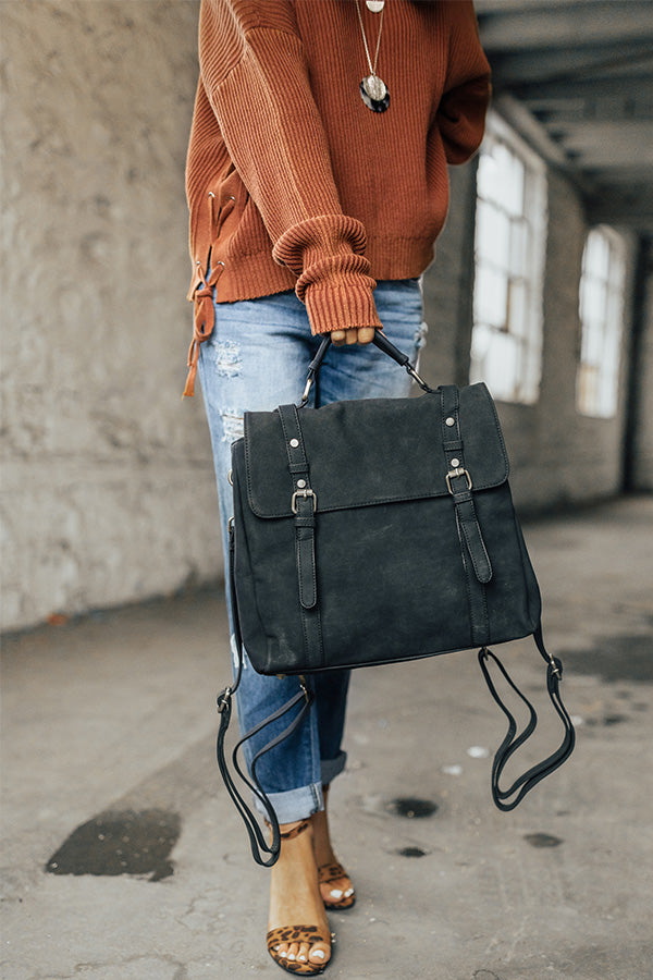 The It List Backpack in Black