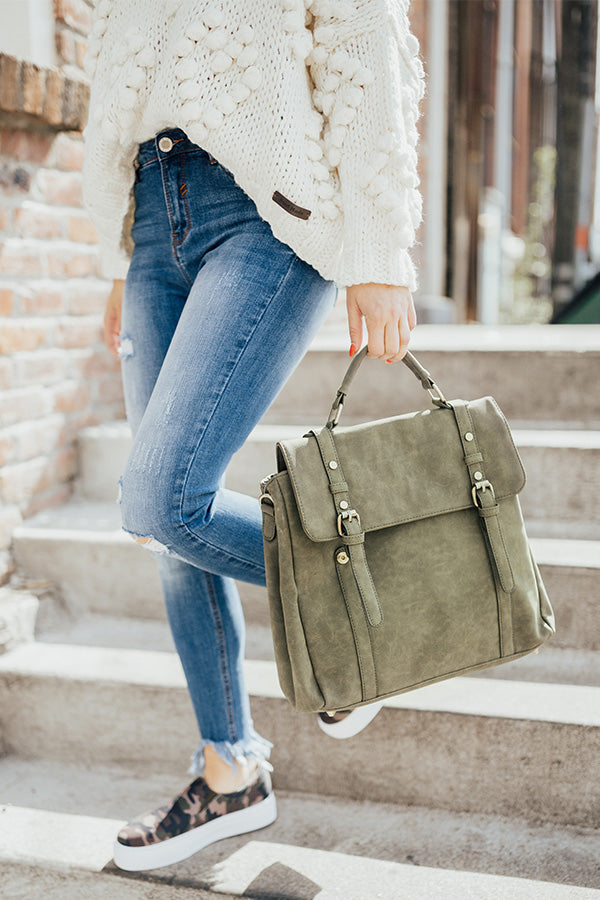 The It List Backpack in Sage