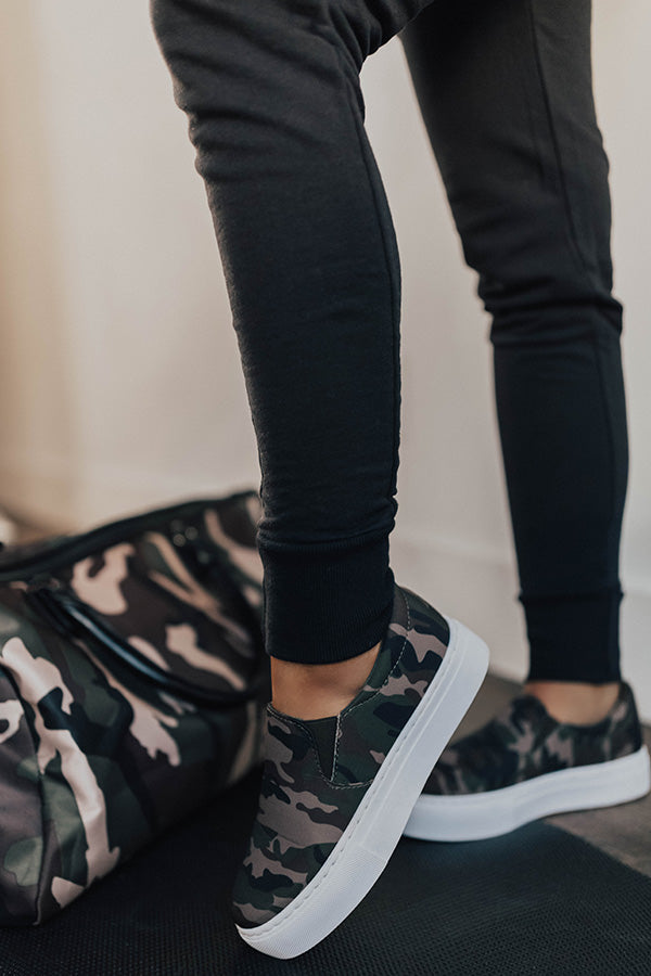 The Linden Camo Sneaker • Impressions