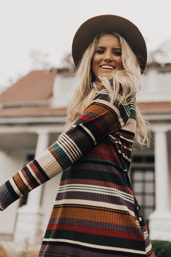 Lollipop Stripe Sweater Dress