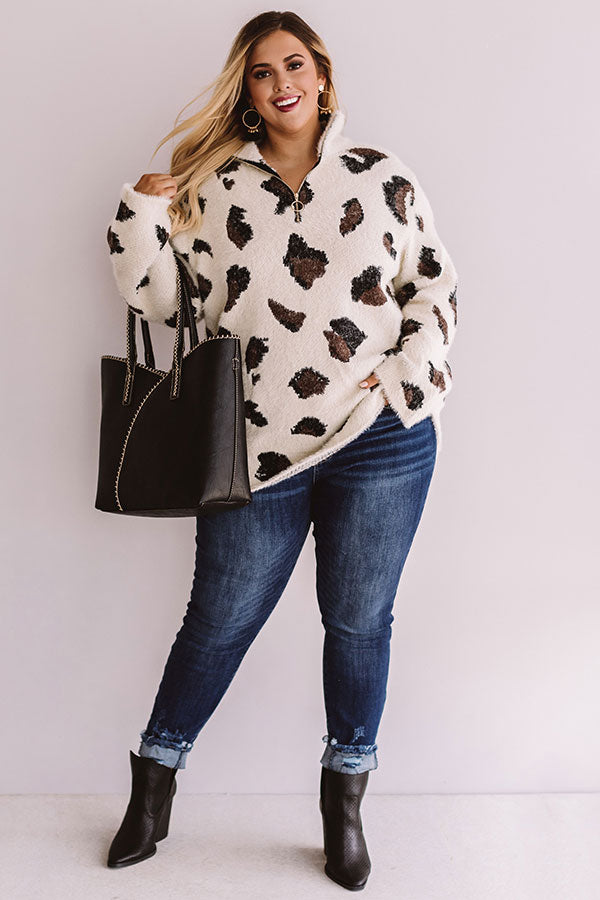Leopard Forever Ultra Soft Sweater