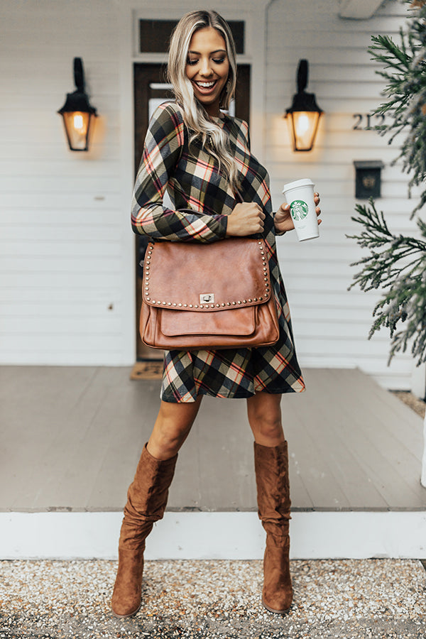 The James Tote In Brown
