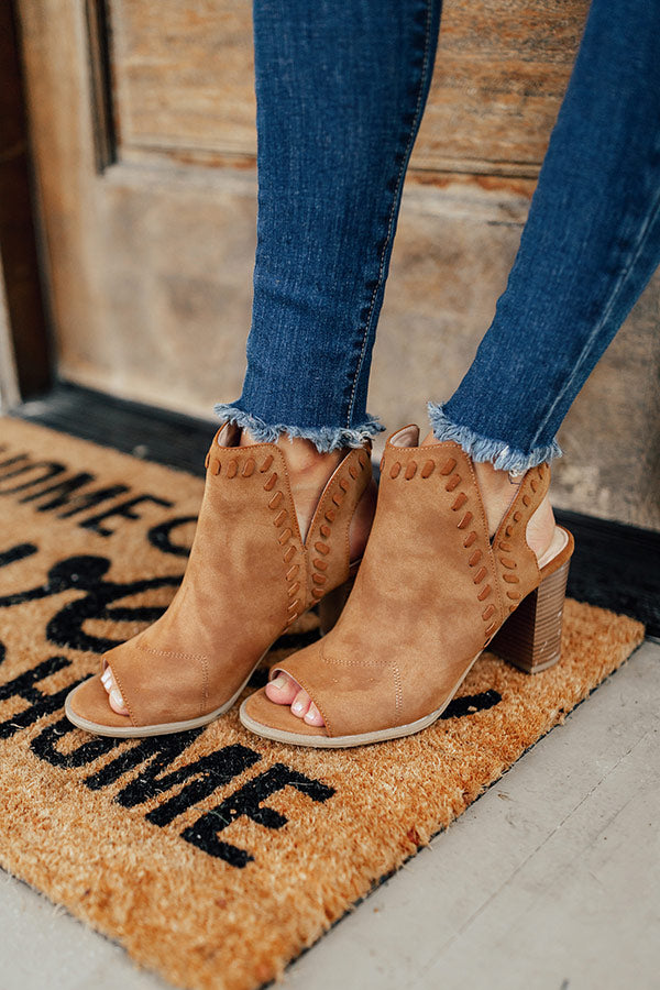 The Tenley Peep Toe Bootie