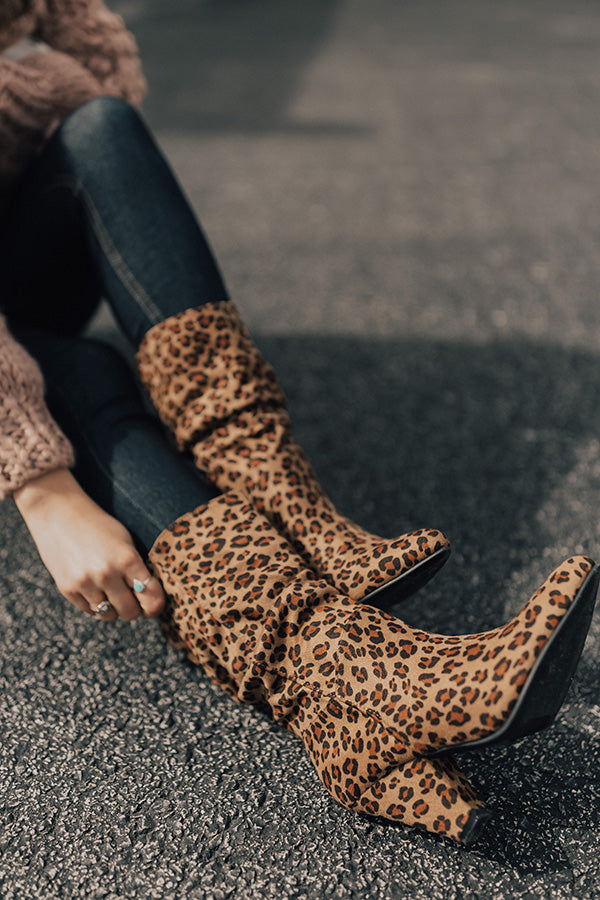The Laurette Leopard Ankle Boot